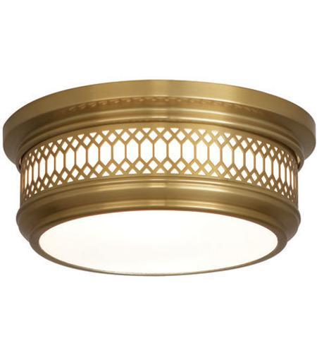 Robert abbey 306 williamsburg tucker 2 light 11 inch antique brass robert abbey 306 williamsburg tucker 2 light 11 inch antique brass flush mount ceiling light mozeypictures Gallery