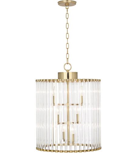 Robert abbey 3344 cole 6 light 18 inch modern brass chandelier robert abbey 3344 cole 6 light 18 inch modern brass chandelier ceiling light aloadofball Gallery