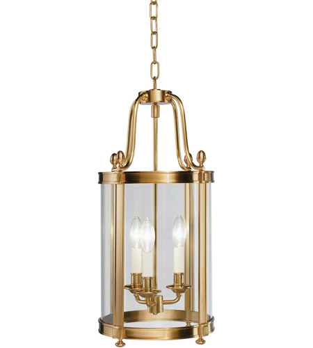Robert Abbey 3360 Blake 3 Light 11 inch Antique Brass Pendant Ceiling Light