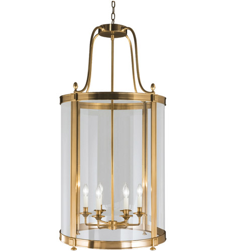 Robert Abbey 3362 Blake 6 Light 23 inch Antique Brass Pendant Ceiling Light