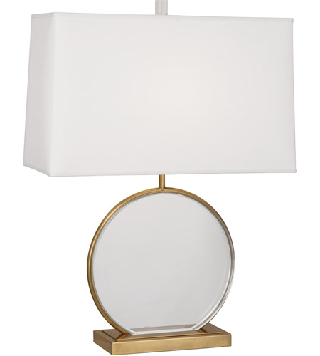 Robert Abbey 3380 Alice 28 inch 150 watt Antique Brass with Lucite Table Lamp Portable Light