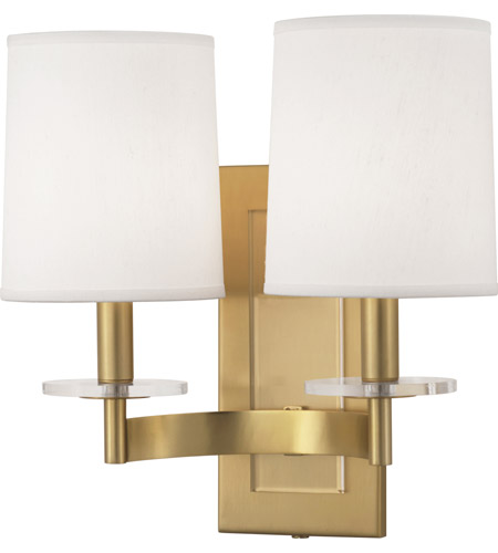 Robert Abbey 3382 Alice 2 Light 14 inch Antique Brass with Lucite Wall Sconce Wall Light