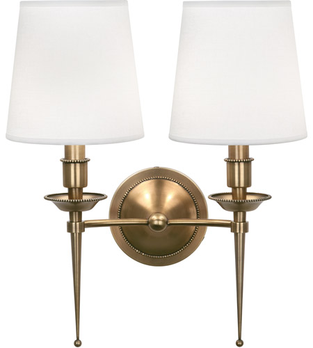Robert Abbey Cedric Wall Sconces