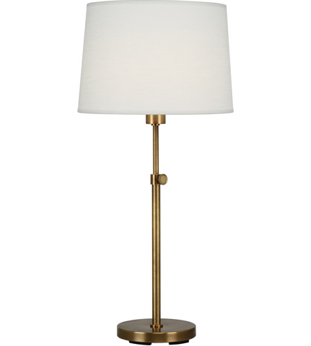 Robert abbey 462 koleman 25 inch 100 watt aged brass table for 100 watt table lamps