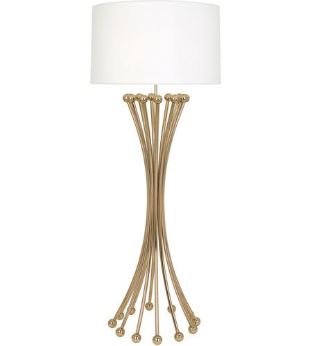 Exceptionnel Robert Abbey 476 Jonathan Adler Biarritz 61 Inch 150 Watt Polished Brass Floor  Lamp Portable Light