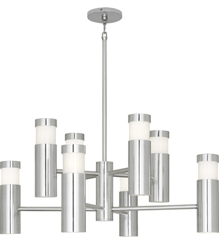 Robert Abbey 596 Peek 16 Light 32 inch Polished Aluminum Chandelier Ceiling Light photo