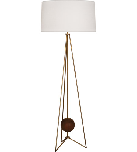Aged Brass Floor Lamps