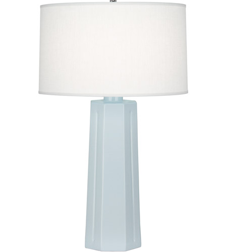 Baby Blue Ceramic Table Lamps