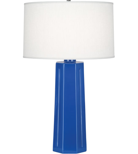 Marine Blue Ceramic Table Lamps