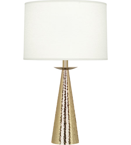 Robert Abbey 9868 Dal 23 inch 150 watt Modern Brass Table Lamp Portable Light