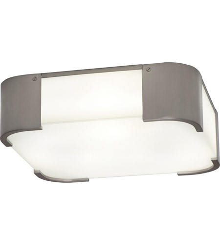 Robert Abbey B1319 Bryce 3 Light 14 inch Brushed Nickel Flushmount Ceiling Light photo