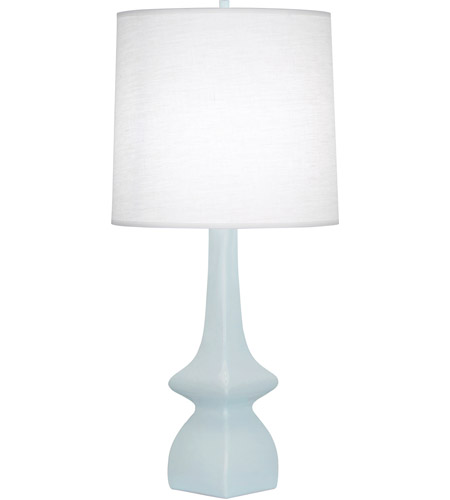 Robert Abbey BB210 Jasmine 31 inch 150 watt Baby Blue Table Lamp Portable Light photo