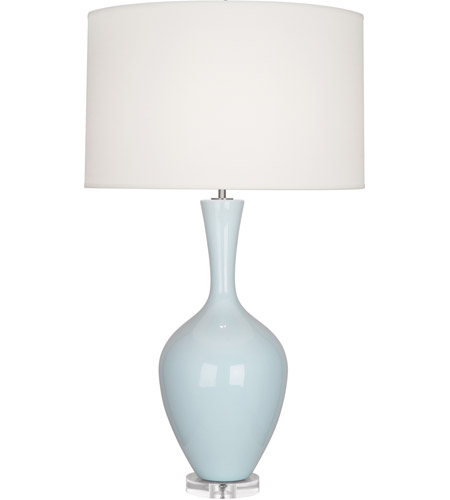 Robert Abbey BB980 Audrey 34 inch 150 watt Baby Blue Table Lamp Portable Light