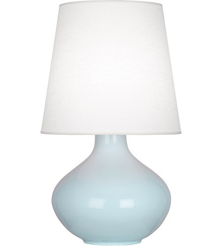 Baby Blue Ceramic June Table Lamps
