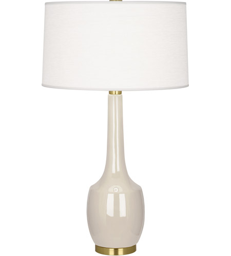 Robert Abbey BN701 Delilah 34 inch 150 watt Bone Table Lamp Portable Light