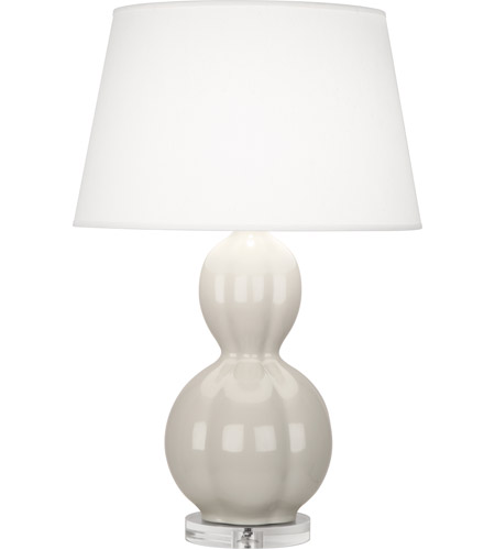 Grey and White Ceramic Table Lamps