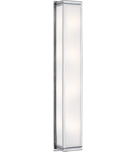 Robert Abbey C1335 Bradley 4 Light 6 inch Polished Chrome Wall Lamp Wall Light