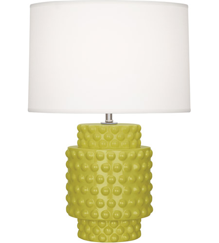 Robert Abbey Citron Ceramic Table Lamps