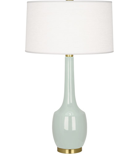 Robert Abbey CL701 Delilah 34 inch 150 watt Celadon Table Lamp Portable Light