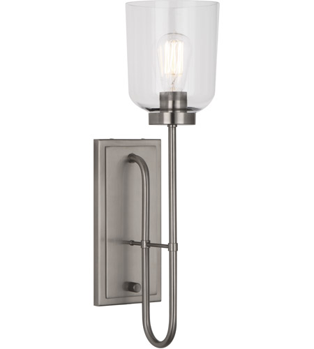 Robert Abbey D411 Williamsburg Tyrie 1 Light 6 inch Dark Antique Nickel Wall Sconce Wall Light photo