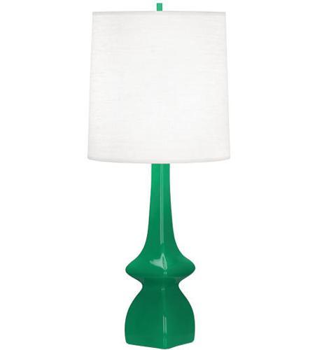 Robert Abbey Eg210 Jasmine 31 Inch 150 Watt Emerald Green Table
