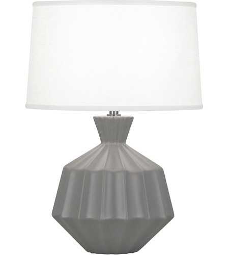 Matte Smoky Taupe Table Lamps
