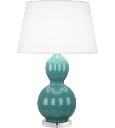 Green and Blue Table Lamps