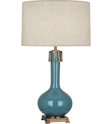 Aged Steel Table Lamps