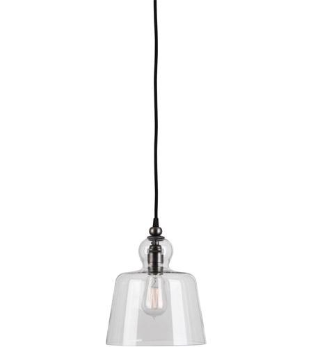 Robert Abbey P746 Albert 1 Light 9 inch Patina Nickel Pendant Ceiling Light