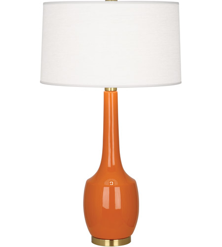 Robert Abbey PM701 Delilah 34 inch 150 watt Pumpkin Table Lamp Portable Light