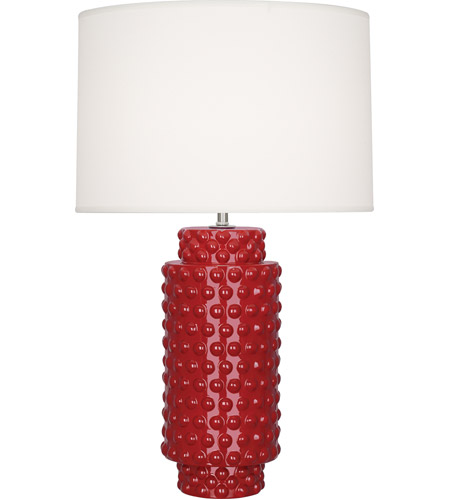 Robert Abbey Ruby Red Table Lamps