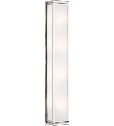 Robert Abbey S1335 Bradley 4 Light 6 inch Polished Nickel Wall Lamp Wall Light