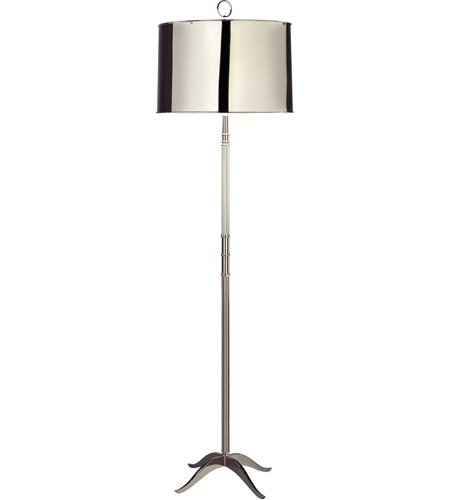 Polished Nickel Floor Lamps