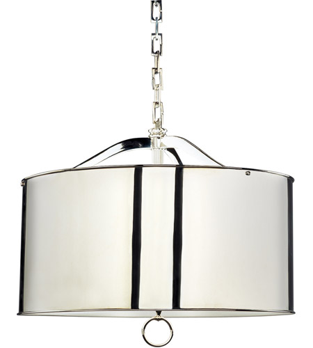 Robert Abbey S1912 Porter 3 Light 20 inch Polished Nickel Pendant Ceiling Light photo