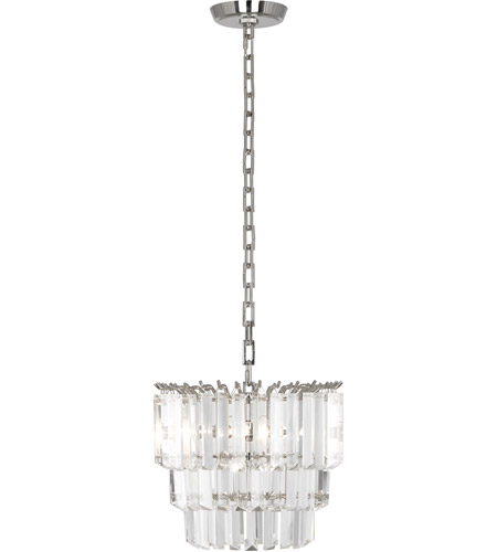 Robert Abbey S1917 Spectrum 2 Light 12 inch Polished Nickel Pendant Ceiling Light photo