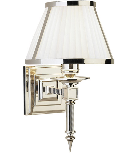 Robert Abbey S1999 Chase 1 Light 8 inch Polished Nickel Wall Sconce Wall Light