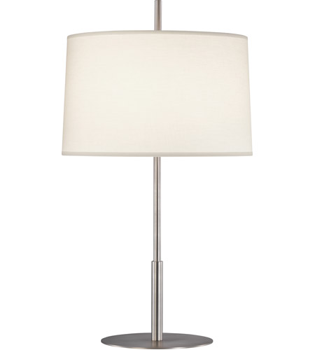 Robert Abbey S2180 Echo 30 Inch 150 Watt Stainless Steel Table Lamp  Portable Light