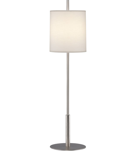 Robert Abbey S2185 Echo 33 inch 60 watt Stainless Steel Table Lamp Portable Light photo thumbnail