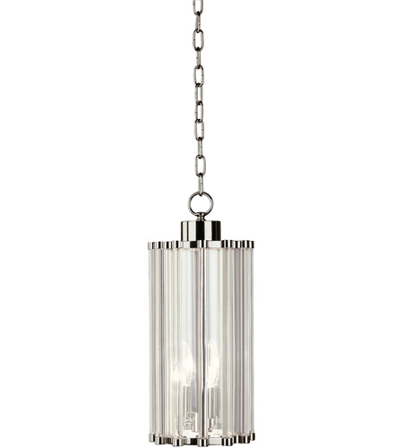 Robert Abbey S3336 Cole 3 Light 15 inch Polished Nickel Pendant Ceiling Light photo