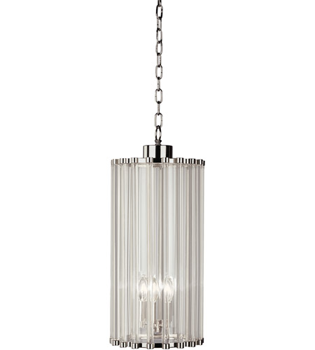 Robert Abbey S3337 Cole 5 Light 10 inch Polished Nickel Pendant Ceiling Light