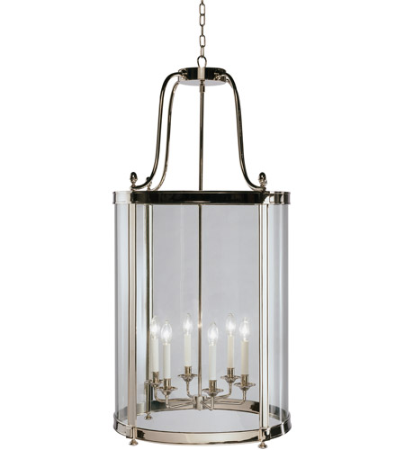 Robert Abbey S3362 Blake 6 Light 23 inch Polished Nickel Pendant Ceiling Light