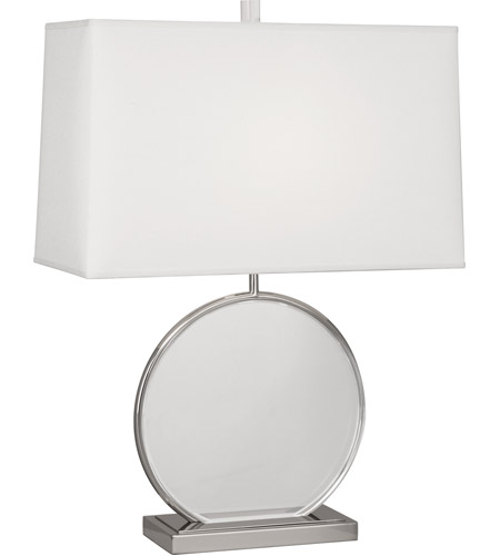 Robert Abbey S3380 Alice 28 inch 150 watt Polished Nickel with Lucite Table Lamp Portable Light