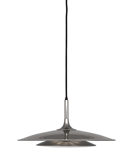 Robert Abbey S3390 Axiom 3 Light 19 inch Polished Nickel Pendant Ceiling Light photo