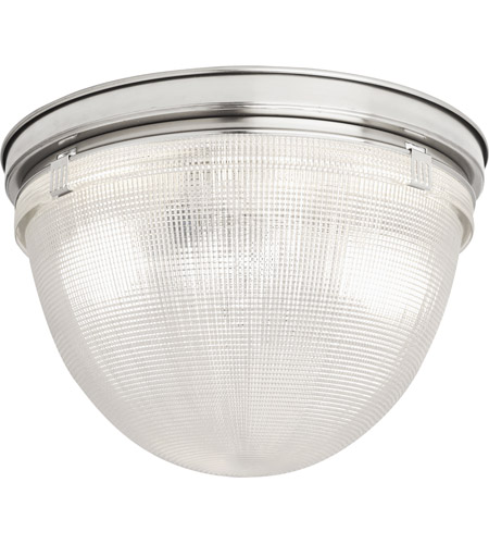 Robert Abbey S3392 Brighton 1 Light 14 inch Polished Nickel Flushmount Ceiling Light photo