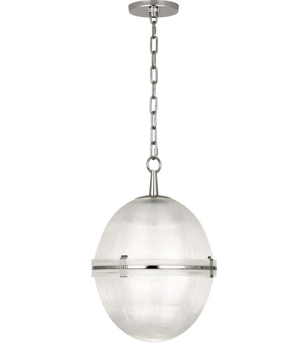 Robert Abbey S3393 Brighton 1 Light 13 inch Polished Nickel Pendant Ceiling Light