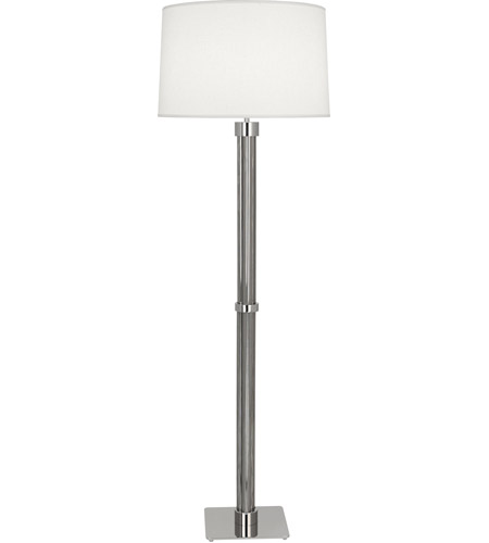 Polished Steel Floor Lamps
