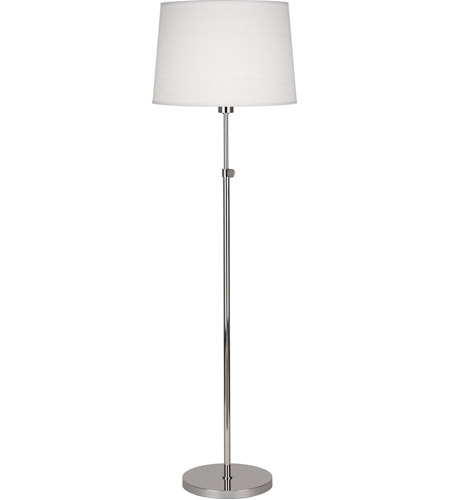 Koleman 49 inch 100 watt polished nickel floor lamp for 100 floor 49