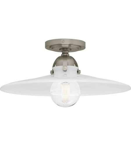 Robert Abbey S614 Rico Espinet Arial 1 Light 16 inch Antique Silver Flushmount Ceiling Light photo