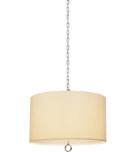 Robert Abbey S657 Jonathan Adler Meurice 3 Light 15 inch Polished Nickel Pendant Ceiling Light photo