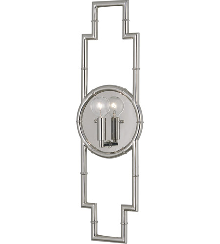 Robert Abbey S769 Jonathan Adler Meurice 1 Light 7 inch Polished Nickel Wall Sconce Wall Light photo